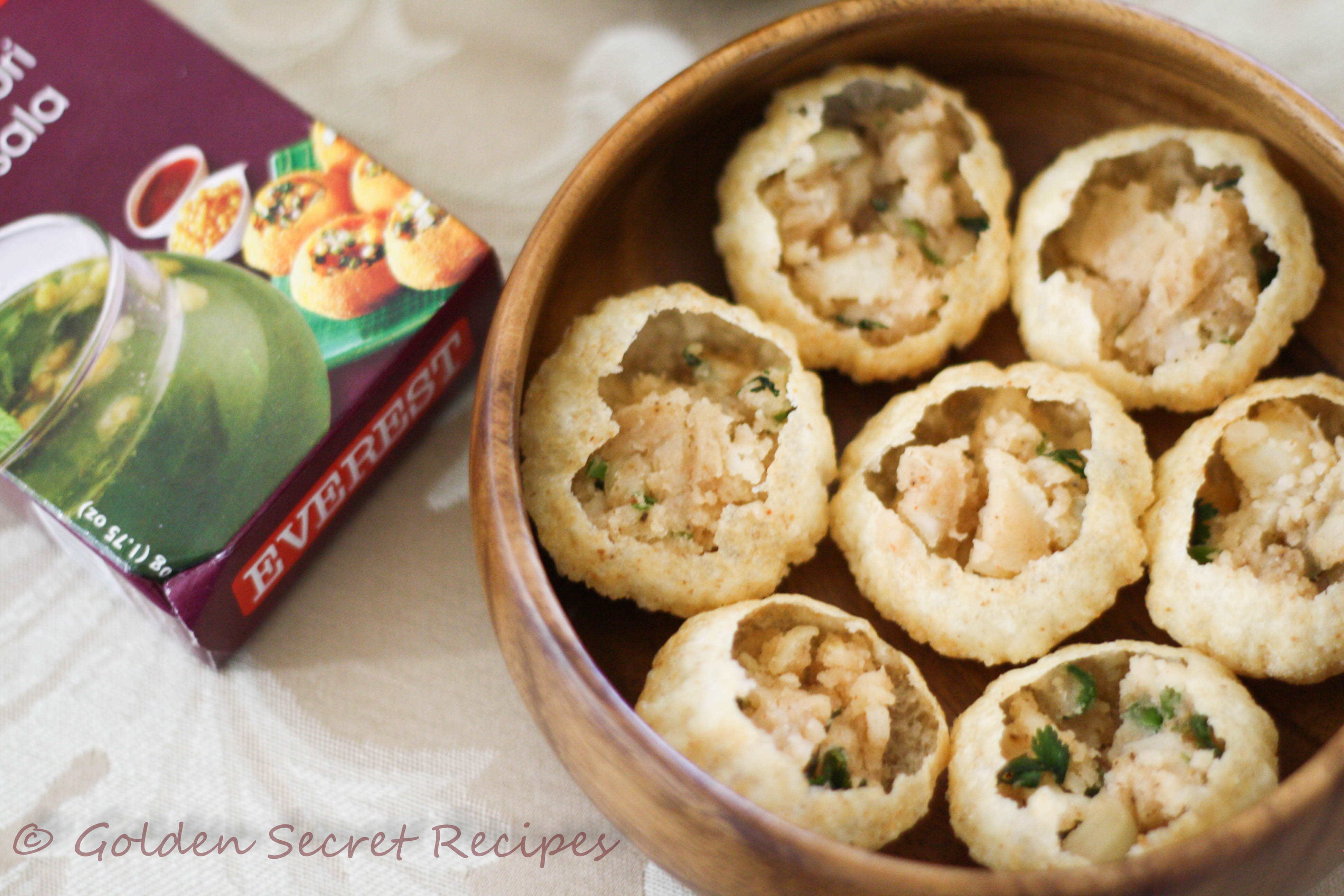 Pani puri golden secret recipes street food is a very popular trend in india once you step out of your school or college or office there will be a variety of different kinds of street forumfinder Choice Image