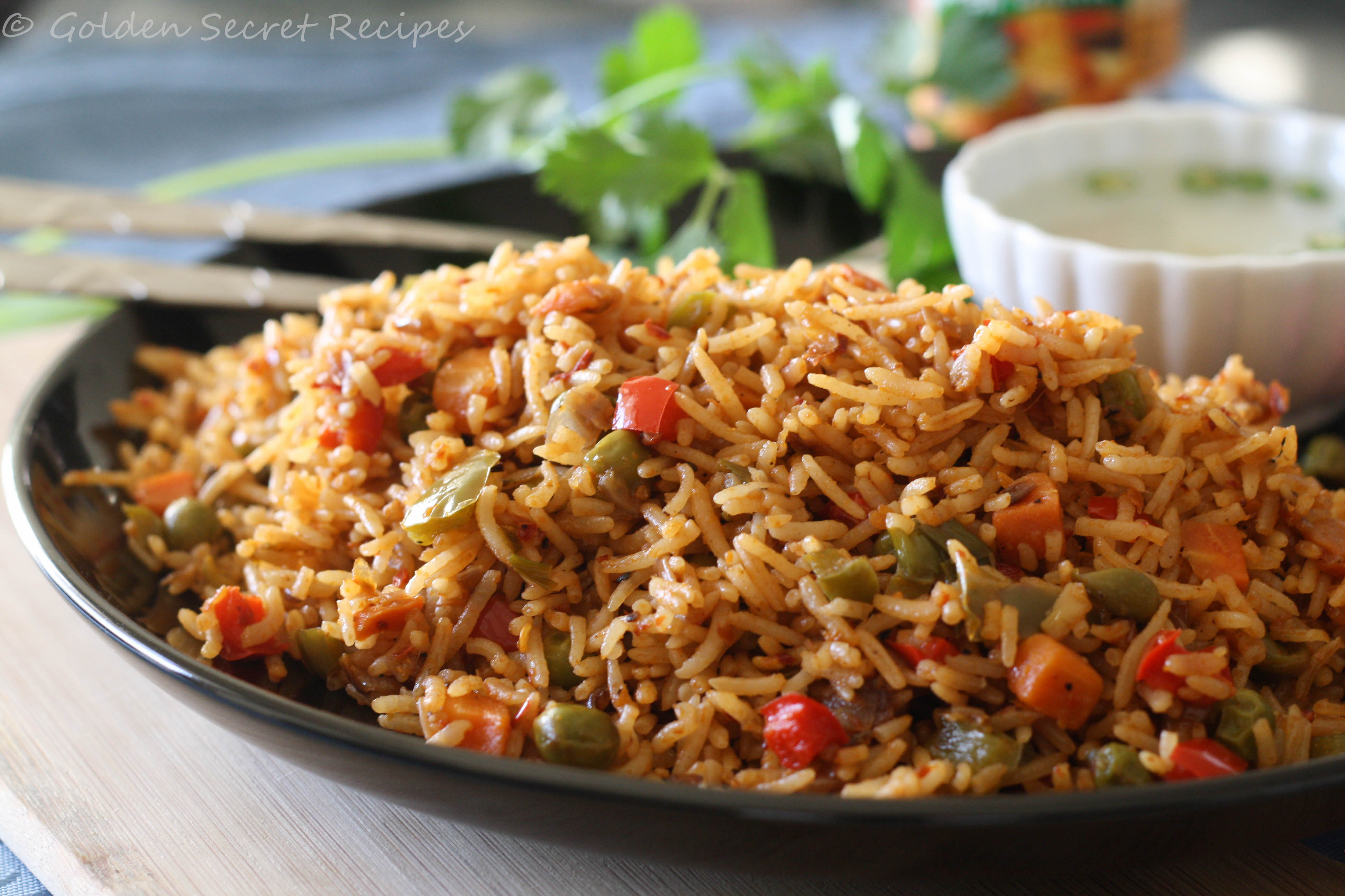 Indian Restaurant Simple Fried Rice Recipe